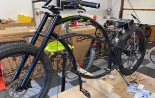 Umbau Custom Bike auf Pedelec